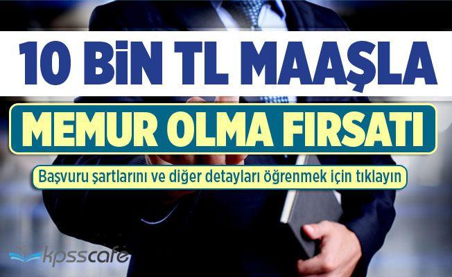 10 Bin TL Maaşla Memur Alınıyor! Ankara Üniversitesi Bilişim Personeli Başvuru Şartları!..