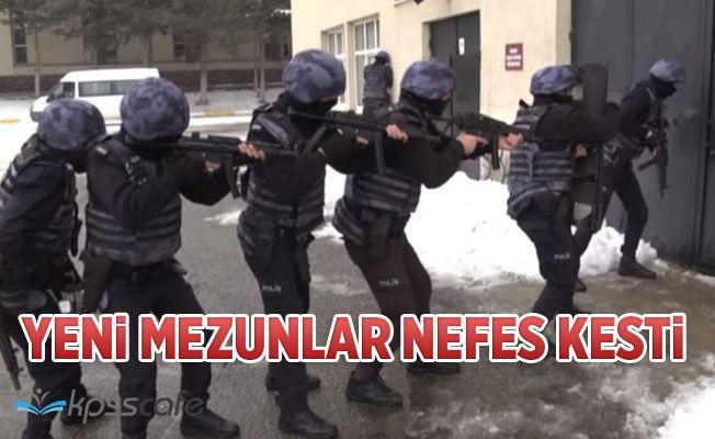 Yeni Mezun Polisler Nefes Kesti!