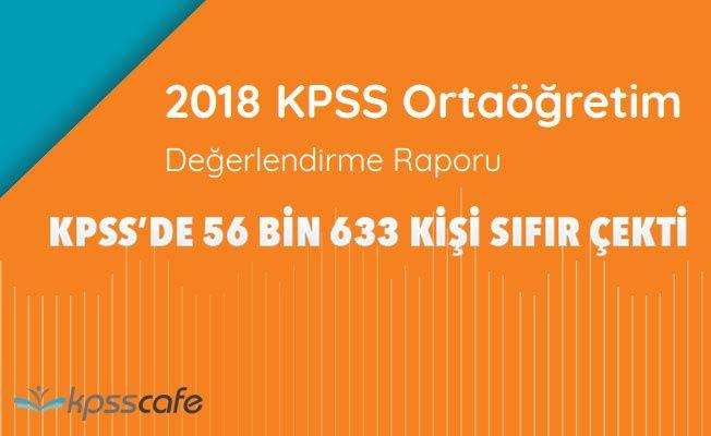 KPSS'de 56 bin 633 kişi sıfır çekti