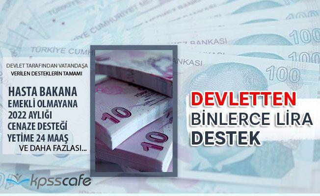 Devletten Binlerce Lira Destek! Siz de Alabilirsiniz!