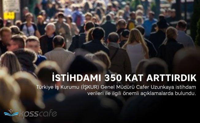 İŞKUR Müdürü: İstihdamı 350 Kat Arttırdık!