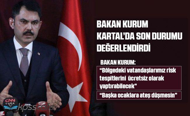 Bakan Murat Kurum Açıkladı: Bina Risk Tespitleri Ücretsizdir!