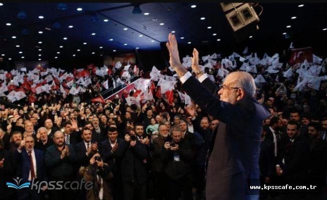 Saadet Partisi'nin İstanbul adayları belli oldu