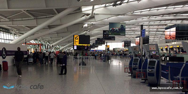 Havalimanlarında Bunu Yapana 2 bin 832 TL Ceza!..