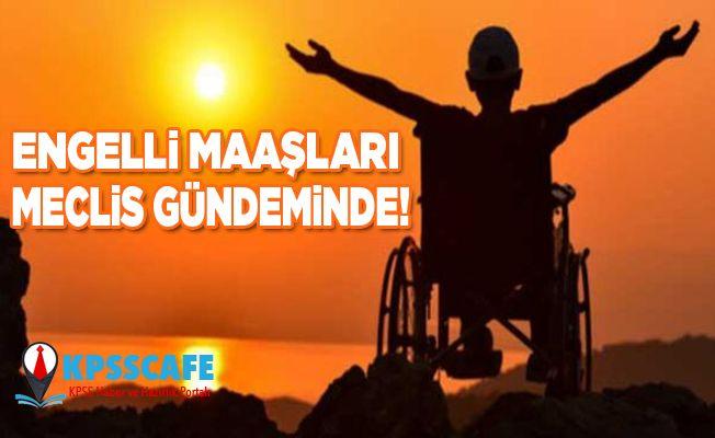 Engelli Maaşları Meclis Gündeminde!