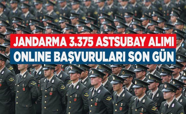 Jandarma Astsubay Alımı Online Başvuruları Son Gün!