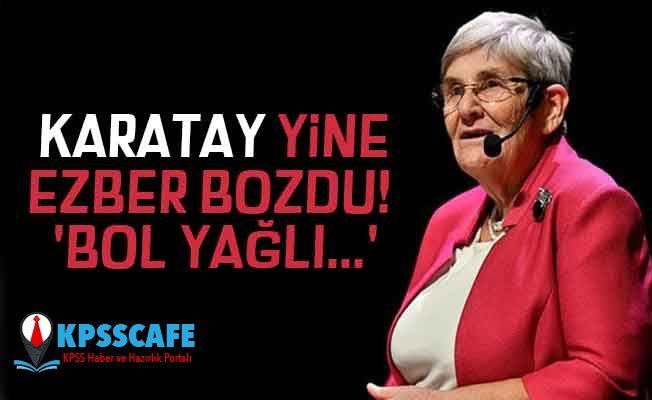 Karatay Yine Ezber Bozdu:Adana Kebabını Öneriyor!