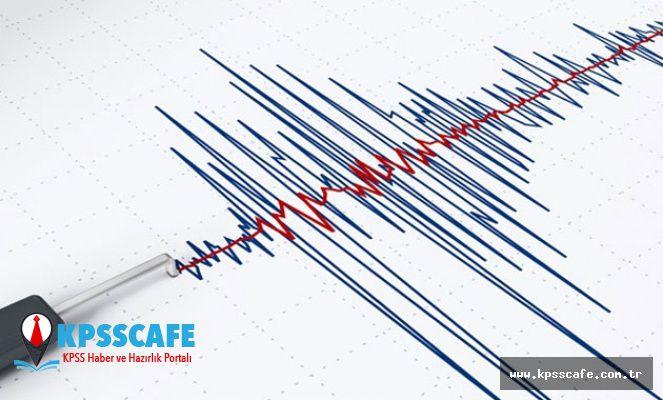 Ege'de 4.3 Büyüklüğünde Deprem!