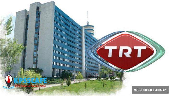TRT'de kaç memur çalışıyor?