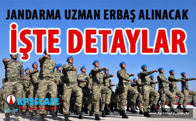 """Jandarma Genel Komutanlığına """"uzman erbaş"""" alınacak"""