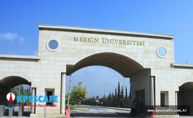Mersin Üniversitesi KPSS'siz Personel Alım İlanı!