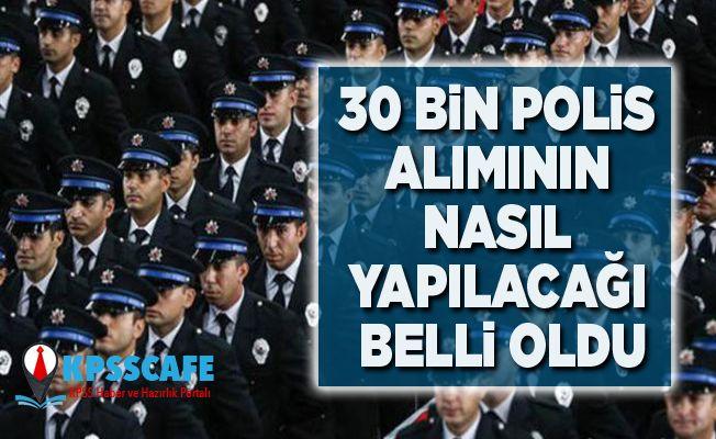 30 bin Polis Alımı Nasıl Yapılacak? İşte Detaylar
