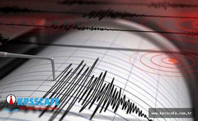 Peş peşe korkutan depremler!