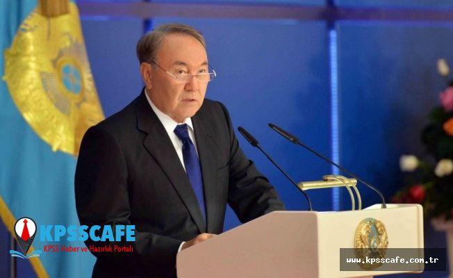 Astana'nın adı resmen Nursultan oldu