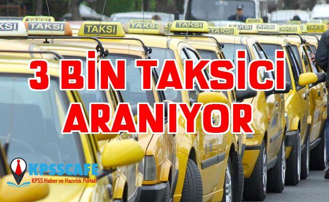 3000 Taksiciye İş İmkanı!