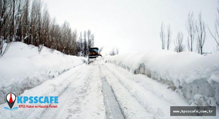 Meteoroloji Yine Yanılmadı! Siirt'te Köy Yolları Ulaşıma Kapandı!