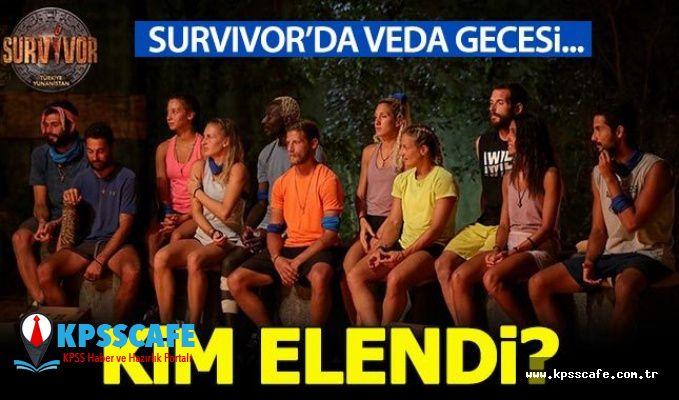 Survivor'da 26 Mart'ta kim elendi?