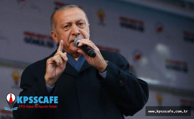 """Erdoğan: """"İşsizlik Mevsimsel, Yaza Geçer!"""""""