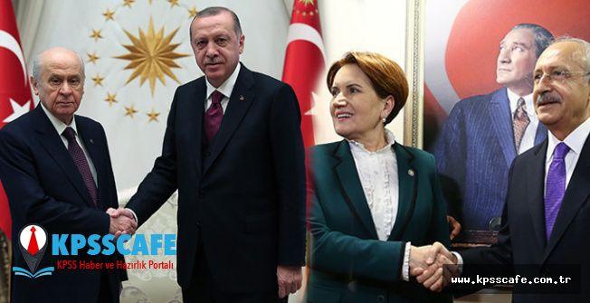 Miting Rekoru Yine Erdoğan'da! Kim Ne Kadar Miting Yaptı? Detaylar Haberimizde!