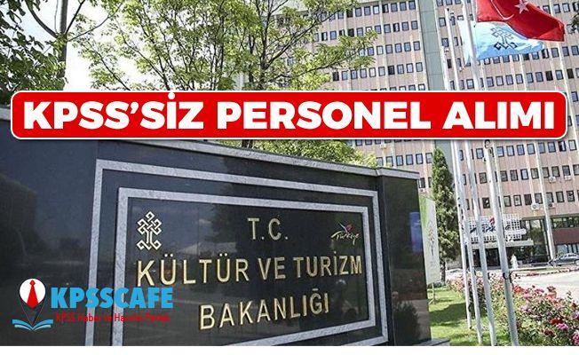 Kültür Bakanlığı'ndan KPSS'siz Personel Alım İlanı! Hangi Kadroya Kaç Kişi Alınacak? İşte Detaylar!
