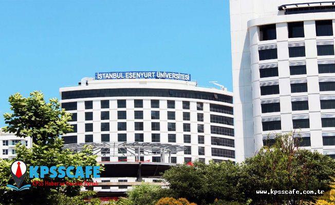 Esenyurt Üniversitesi Personel Alıyor!