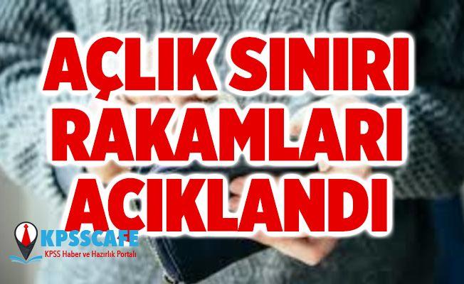 Türkiye Açlık Sınırı Rakamları Açıklandı!