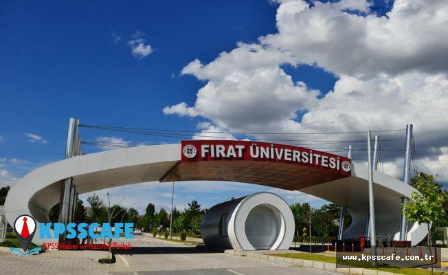 Fırat Üniversitesi Personel Alım İlanı!