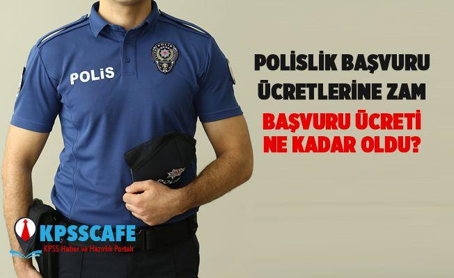 Polislik Başvuru Ücretine Zam!