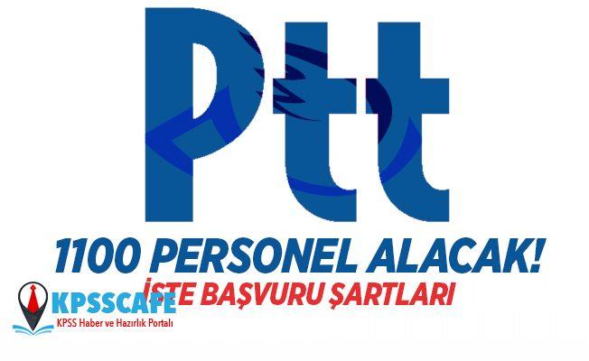 PTT 1100 Memur Alımı Yapacak! İşte Başvuru Şartları!