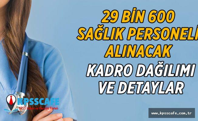 Sağlık Bakanlığı 29 Bin 600 Personel Alımında Sona Gelindi! İşte detaylar!