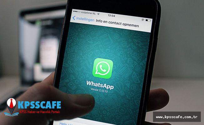 WhatApp'tan dikkat çekici yeni özellik