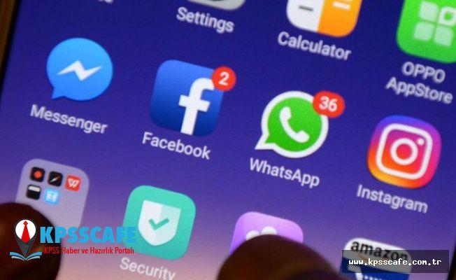 Bakanlık'tan Facebook, İnstagram ve WhatsApp Açıklaması