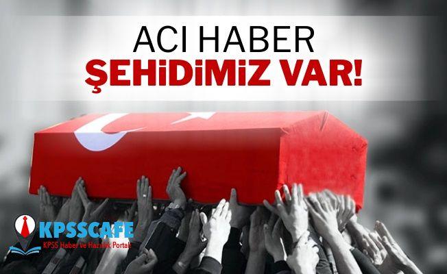 Ankara'dan Acı Haber 1 Asker Şehit!
