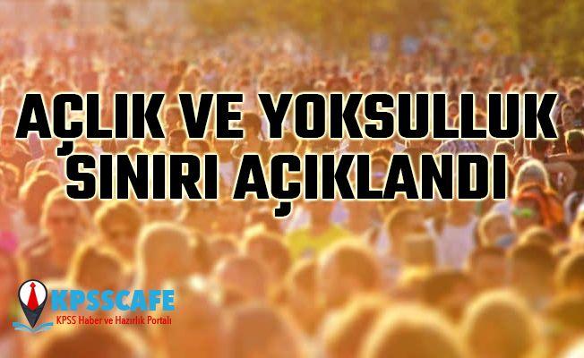 Türkiye Açlık ve Yoksulluk Sınırı Nisan Ayı Rakamları Açıklandı!