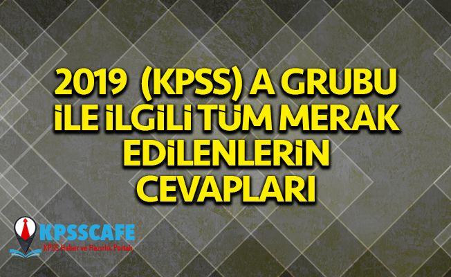 2019 (KPSS) A Grubu ve Öğretmenlik 'Sıkça Sorulan Sorular' Yayımlandı