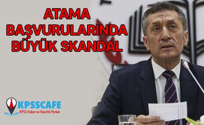 Milli Eğitim Bakanlığı'nda Atama Başvurularında Büyük Skandal!