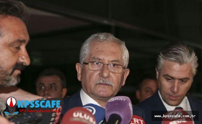 YSK Başkanı Güven'den ilk açıklama: Yargı süreci sona erdi