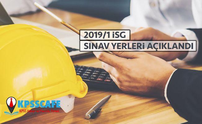 2019-İSG 1. Dönem Sınava Giriş Belgeleri Açıklandı