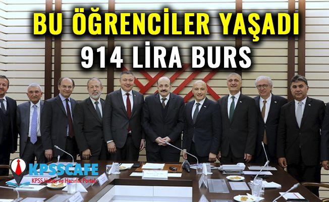 Bu Öğrenciler Yaşadı: 914 Lira Burs!