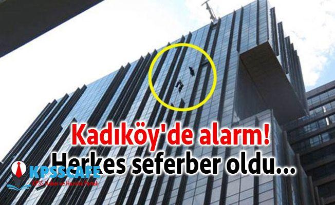 Kadıköy'de alarm! Herkes seferber oldu...