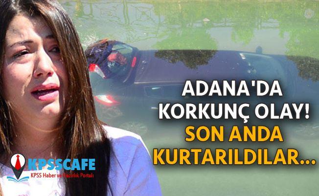 Adana'da Korkunç Olay Son Anda Kurtarıldılar...