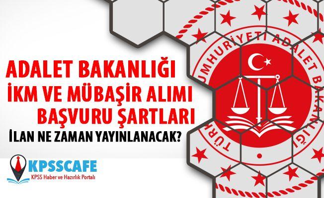 Adalet Bakanlığı İnfaz Koruma Memuru ve Mübaşir Alımı Başvuru Şartları 2019!
