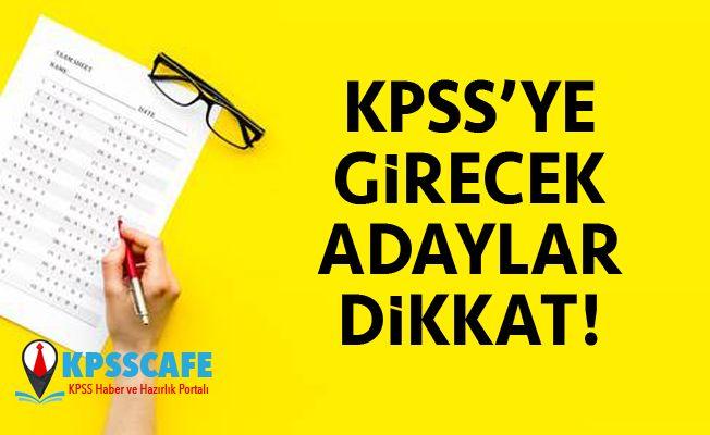 KPSS'ye Girecekler Dikkat! KPSS Başvurularından Son Gün!