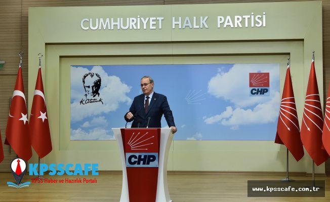 CHP: AKP , Ekonomiye ve Miilletin Gerçek Gündemine İhanet Etti