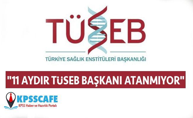 """""""11 Aydır TÜSEB Başkanı Atanmıyor"""""""