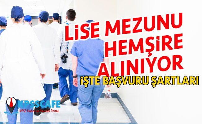 Tokat GaziosmanPaşa Üniversitesi 2018 KPSS ile Lise Mezunu Hemşire Alıyor!
