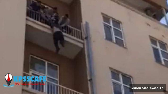 Ankara'da ekonomik kriz olduğunu söyleyen bir kişi intihara kalkıştı