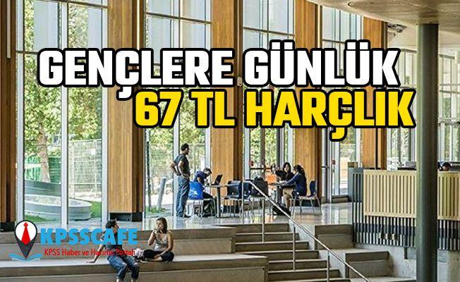 İŞKUR'dan Gençlere Günlük 67 TL Harçlık!