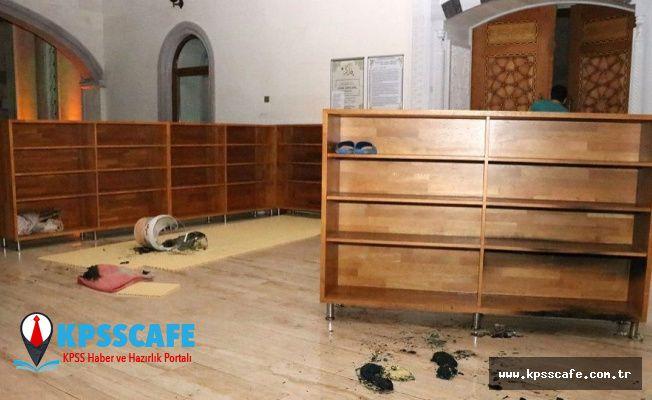 Kapalı Diye Camiyi Yakmaya Kalktı!