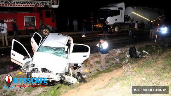 Tokat'tan Kahreden Haber! 2 polis Hayatını Kaybetti